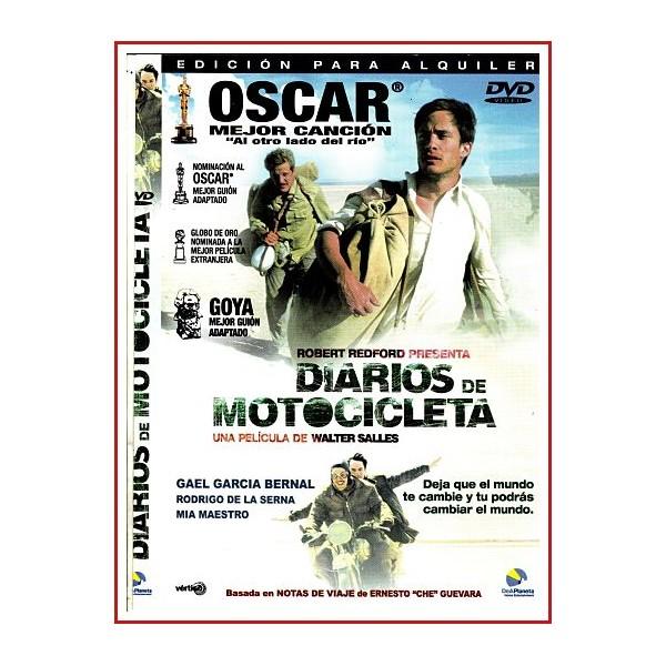 CARATULA DVD DIARIOS DE MOTOCICLETA