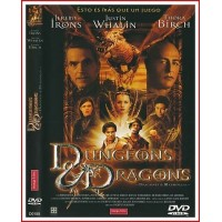 CARATULA DVD DRAGONES Y MAZMORRAS [DUNGEONS DRAGONS]