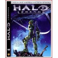 HALO LEGENDS ED 2 DISCOS DVD 2010 Dirigida por Shinji Aramaki