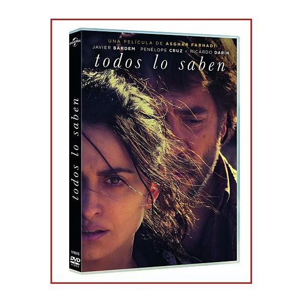 TODOS LOS SABEN DVD 2018 Director: Asghar Farhadi