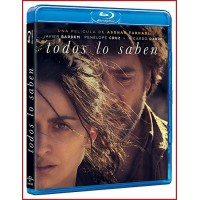 TODOS LO SABEN BLU RAY 2018 CINE ESPAÑOL Director Asghar Farhadi