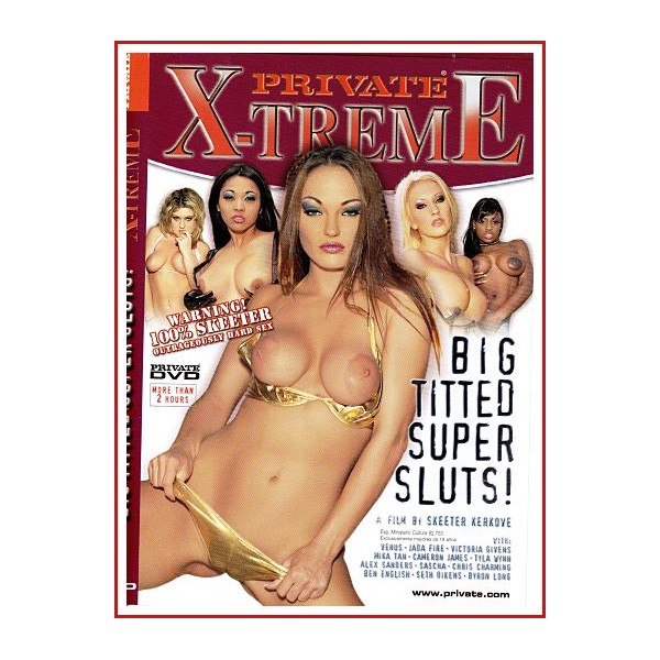 CARATULA DVD BIG TITTED SUPER SLUTS! (PRIVATE X-TREME)