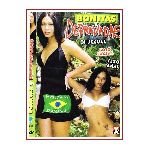 CARATULA DVD BONITAS DEPRAVADAS BI-SEXUAL GOZO FACIAL