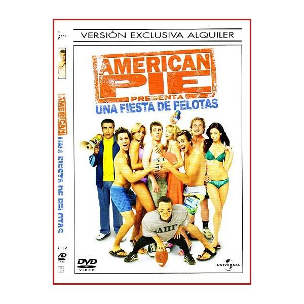 CARATULA DVD AMERICAN PIE UNA FIESTA EN PELOTAS