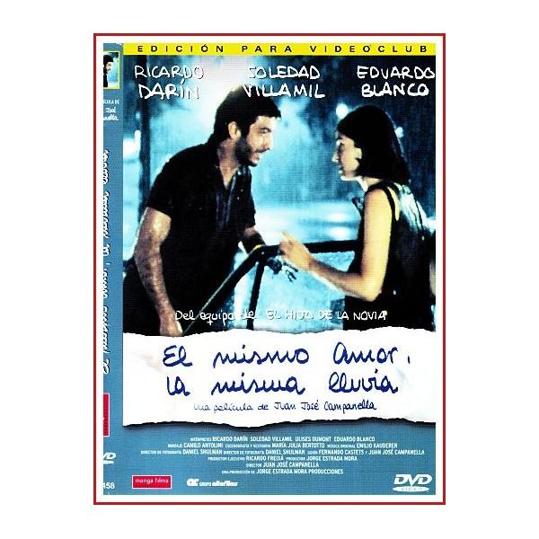 CARATULA DVD EL MISMO AMOR LA MISMA LLUVIA