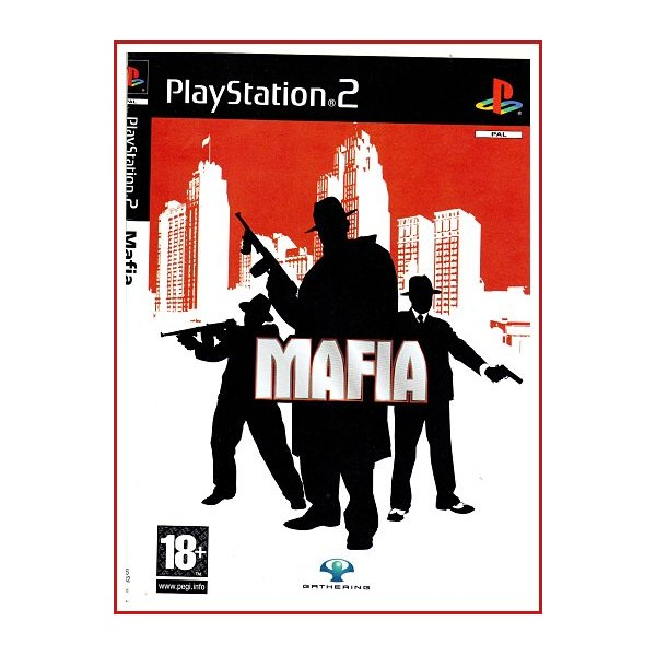 CARATULA ORIGINAL PS2 MAFIA