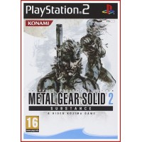 CARATULA PS2 METAL GEAR SOLID 2
