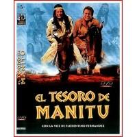 CARATULA DVD EL TESORO DE MANITU