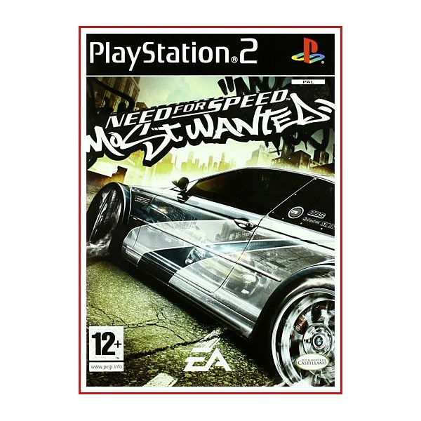 CARATULA ORIGINAL PS2 NEED FOR SPEED MOST WANTED