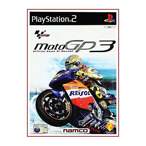 CARATULA PS2 MOTO GP3