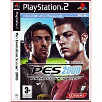 CARATULA PS2 PES 2008 PRO EVOLUTION SOCCER