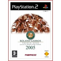 CARATULA PS2 ROLAND GARROS PARIS 2005