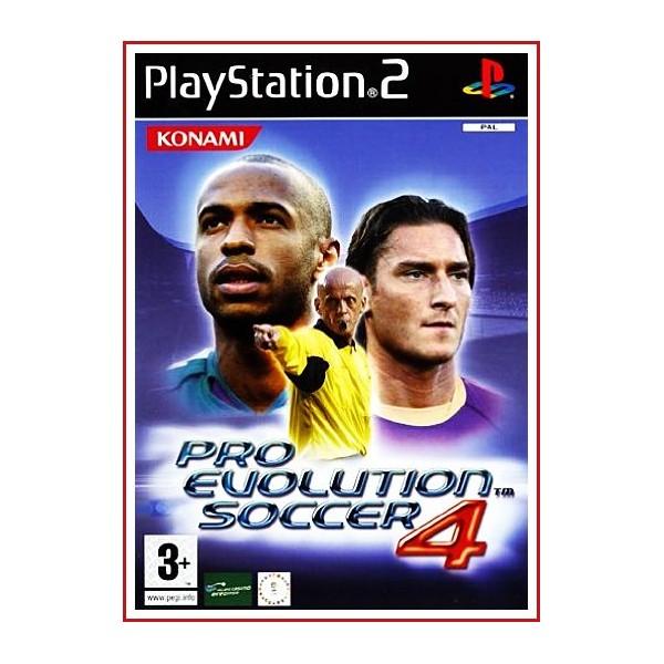 CARATULA ORIGINAL PS2 PRO EVOLUTION SOCCER 4