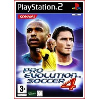 CARATULA PS2 PRO EVOLUTION SOCCER 4