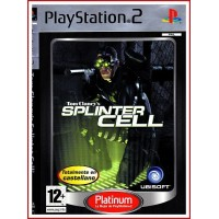 CARATULA PS2 SPLINTER CELL TOM CLANCY'S
