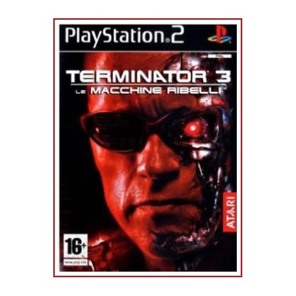 CARATUL ORIGINAL PS2 TERMINATOR 3