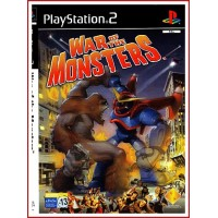CARATULA PS2 WAR OF THE MONSTERS