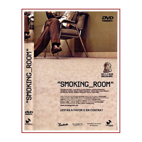 CARATULA DVD SMOKING ROOM