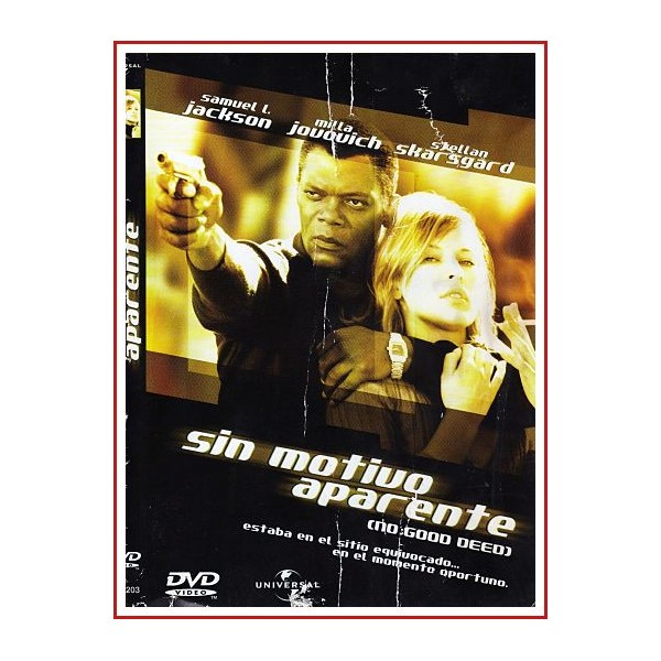 CARATULA DVD SIN MOTIVO APARENTE