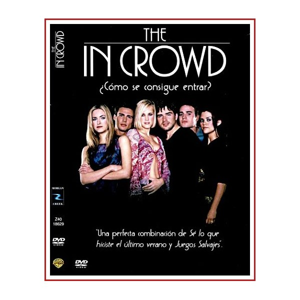 CARATULA DVD THE IN CROWD
