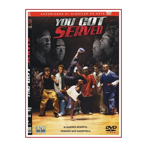 CARATULA DVD YOU GOT SERVED