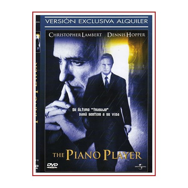 CARATULA DVD THE PIANO PLAYER (EL PIANISTA)