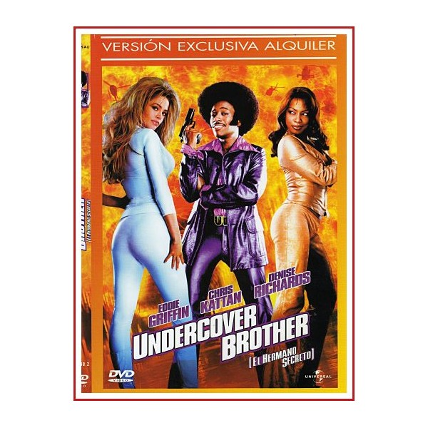 CARATULA DVD UNDERCOVER BROTHER (EL HERMANO SECRETO)