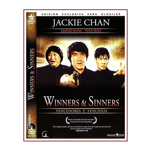 CARATULA DVD VENCDORES Y VENCIDOS (WINNERS & SINNERS)