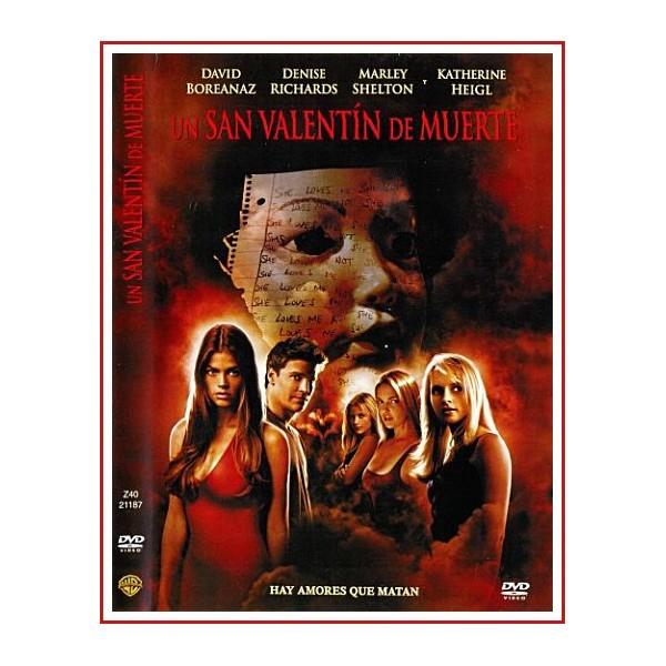 CARATULA DVD UN SAN VALENTIN DE MUERTE