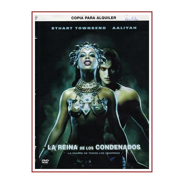 CARATULA ORIGINAL DVD LA REINA DE LOS CONDENADOS