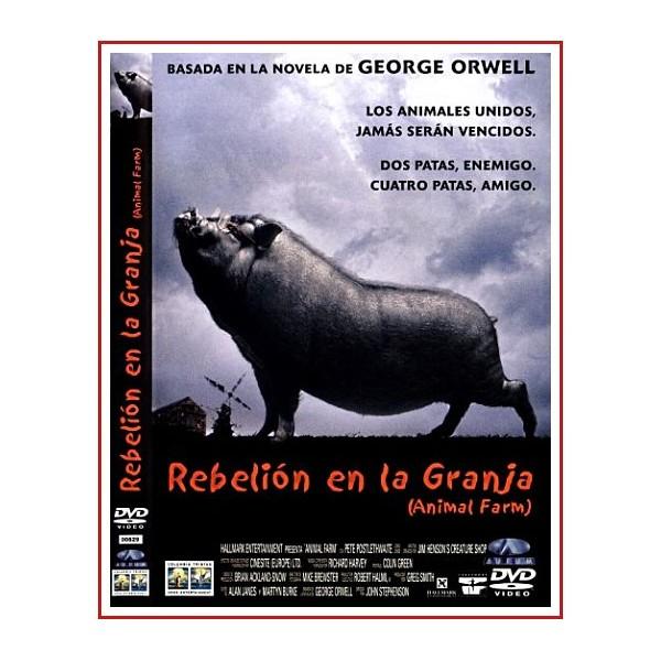 CARATULA ORIGINAL DVD REBELIÓN EN LA GRANJA
