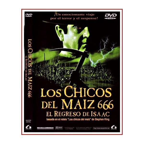 CARATULA DVD LOS CHICOS DEL MAIZ 666 EL REGRESO DE ISAAC