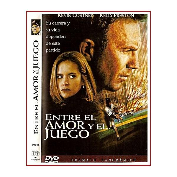 CARATULA ORIGINAL DVD ENTRE EL AMOR Y EL JUEGO
