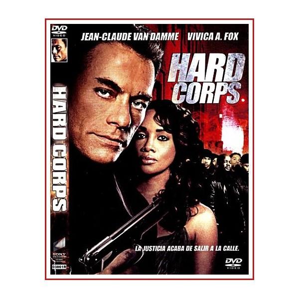 CARATULA DVD HARD CORPS
