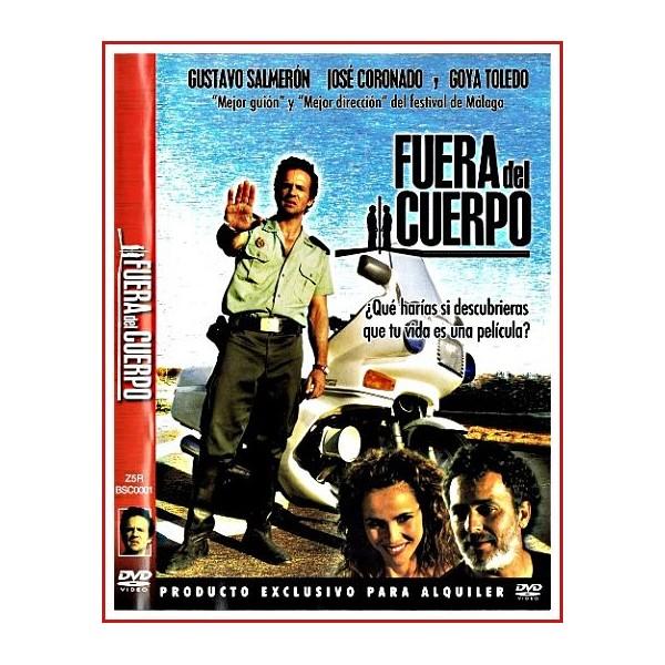 CARATULA ORIGINAL DVD FUERA DEL CUERPO