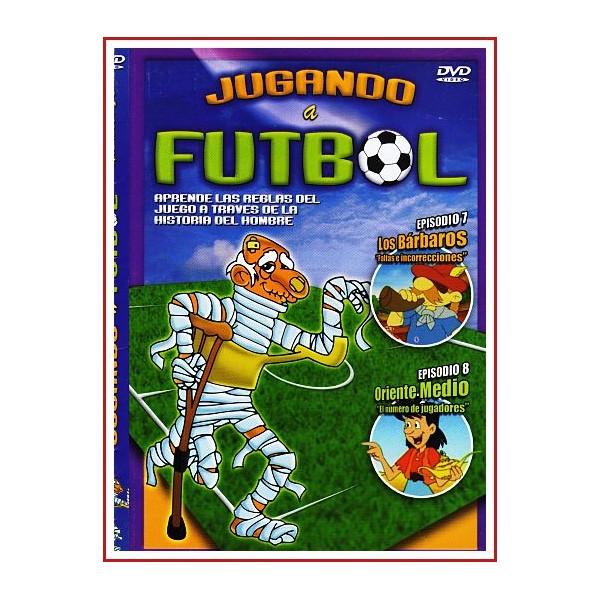 CARATULA DVD JUGANDO A FUTBOL EPISODIO 7 Y 8