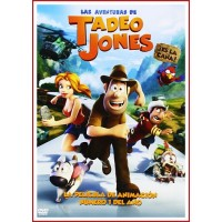 LAS AVENTURAS DE TADEO JONES DVD 2012 Director: Enrique Gato