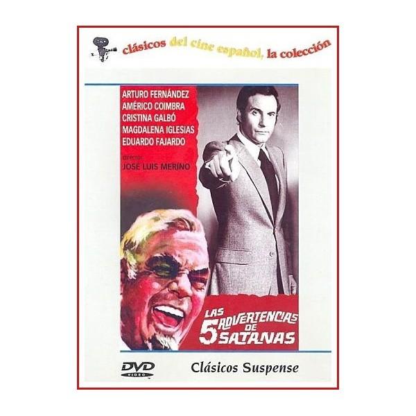 LAS 5 ADVERTENCIAS DE SATANAS DVD 1970 Dirigida por José Luis Merino