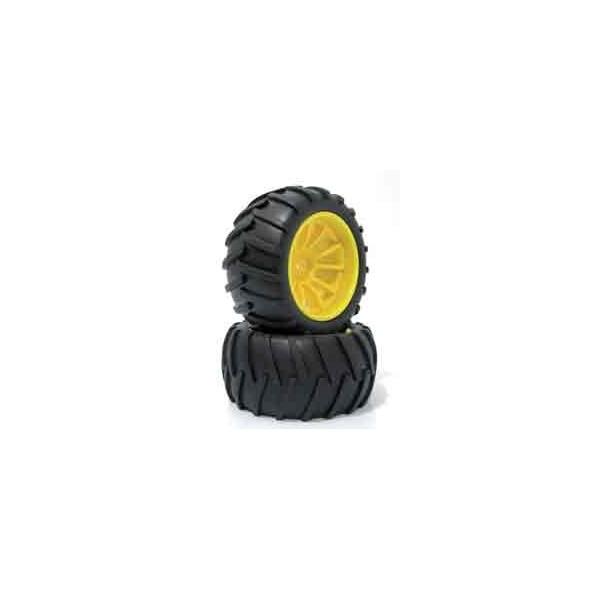 Neumáticos con llanta Big Foot 1/10