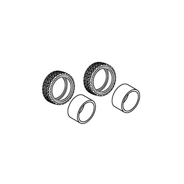 Par Neumáticos de Goma