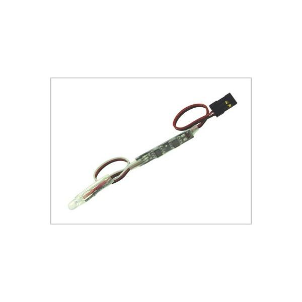 Indicador de batería led multicolor con conector JR-Hitec
