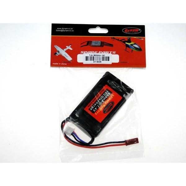 Batería Lipo 7.4vol 850MHA 15C