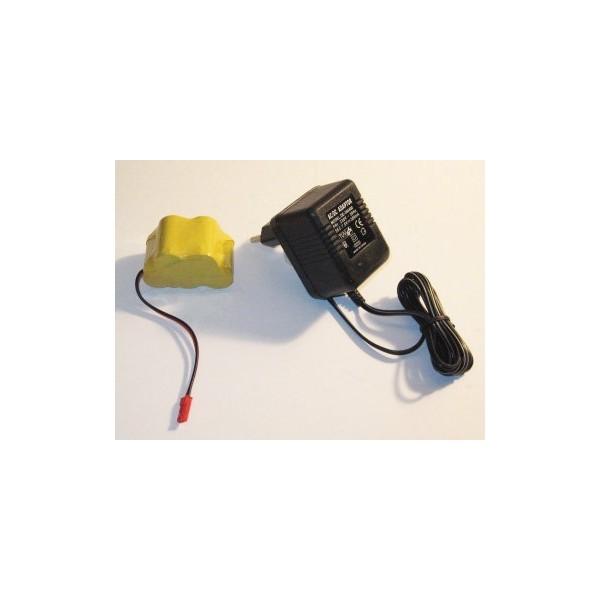 Set batería receptor 6v y cargador