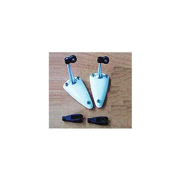 Horn en aluminio 15mm c/rodamientos