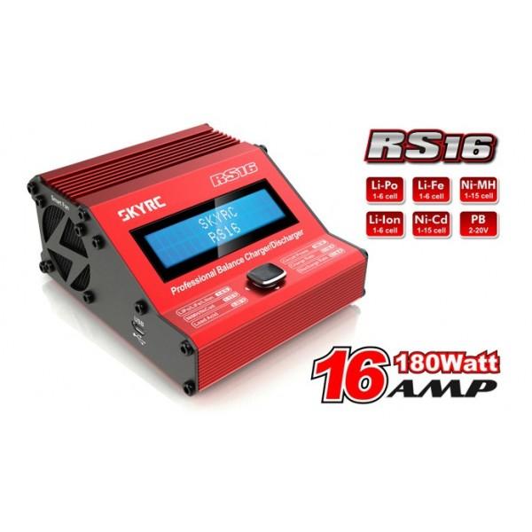 Cargador RS16(180W/16A) Alto Rendimiento