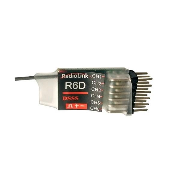 Receptor R6D 6 Canales 2,4Ghz DSSS Radiolink