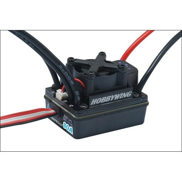 Variador Velocidad Brushless 80A Ezrun-WP80A