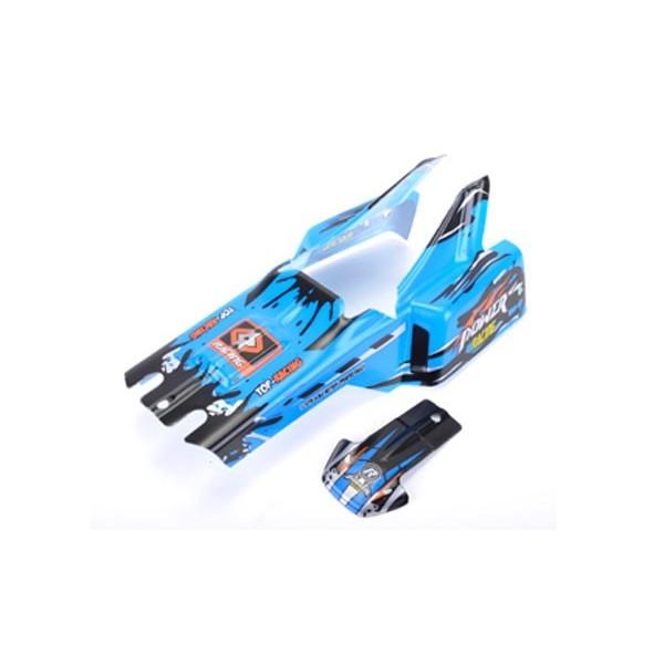 959-47 Carrocería Coche RC Wave Runner Azul