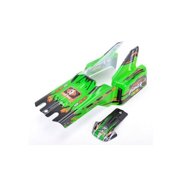 959-48 Carrocería Coche RC Wave Runner Verde