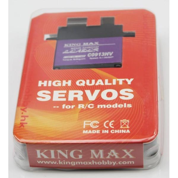 Servo Standard KMC0913HV Digital 9.5Kg Piñones Metal